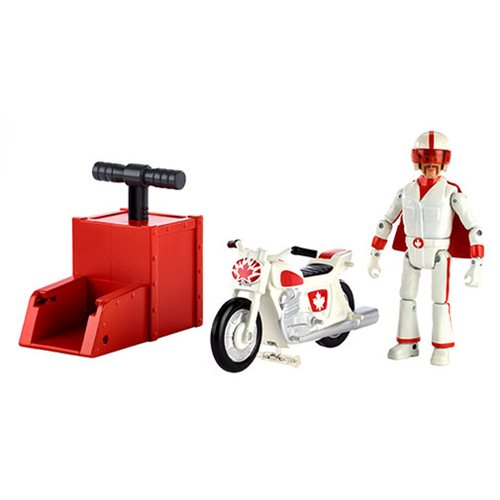 Toy Story 4 Stunt Racer Duke Caboom Figure with Vehicle