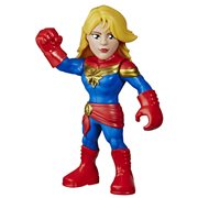 Marvel Super Hero Adventures Mega Mighties Captain Marvel 10-Inch Action Figure