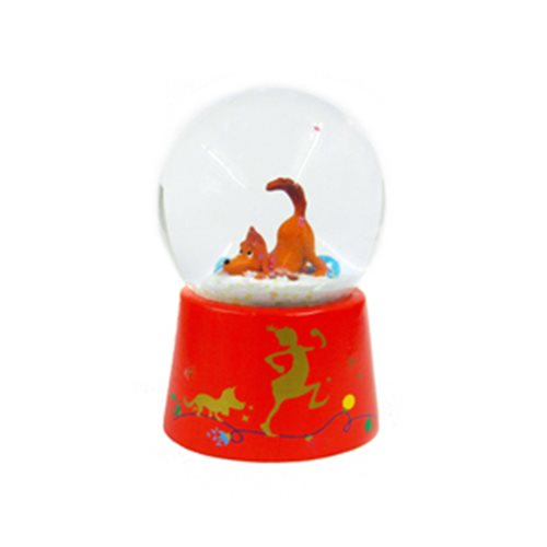 The Grinch Max with Ornament 45mm Snow Globe