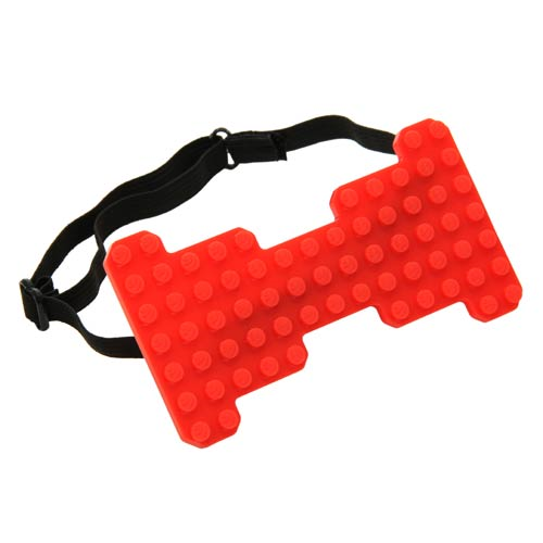 Bricky Blocks Red Bow Tie