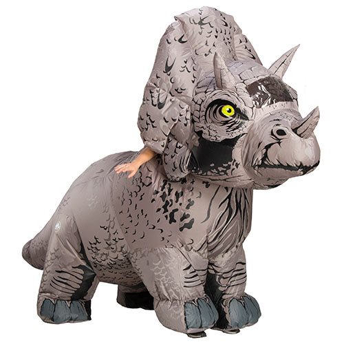 Jurassic World Fallen Kingdom Triceratops Inflatable Costume  sc 1 st  Entertainment Earth & Jurassic World: Fallen Kingdom Triceratops Inflatable Costume ...