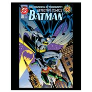 Batman Detective Comics The Beginning of Tomorrow Comic Cover Canvas Print