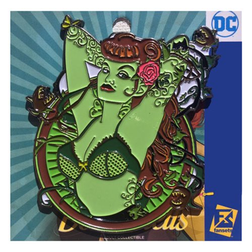 DC Bombshells Poison Ivy Badge Pin