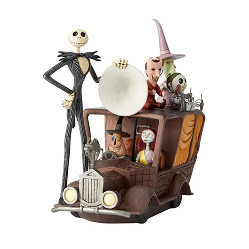 Disney Traditions Nightmare Before Christmas Mayor Car Terror Triumphant by Jim Shore Statue