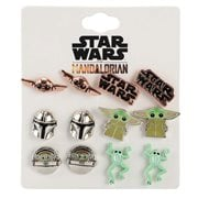 Star Wars The Mandalorian Grogu Stud Earring Set