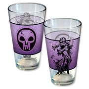 Magic The Gathering Planeswalker Liliana Line Art Pint Glass