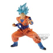 Super Dragon Ball Heroes Transcendence Art Vol.1 Super Saiyan Blue Goku Statue