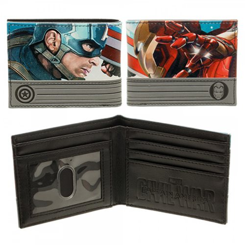 Captain America: Civil War Verses Bi-Fold Wallet