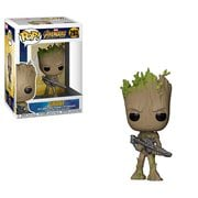 Avengers: Infinity War Teen Groot with Gun Pop! Vinyl Figure