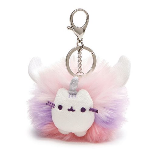Pusheen the Cat Super Pusheenicorn Pom Plush Key Chain