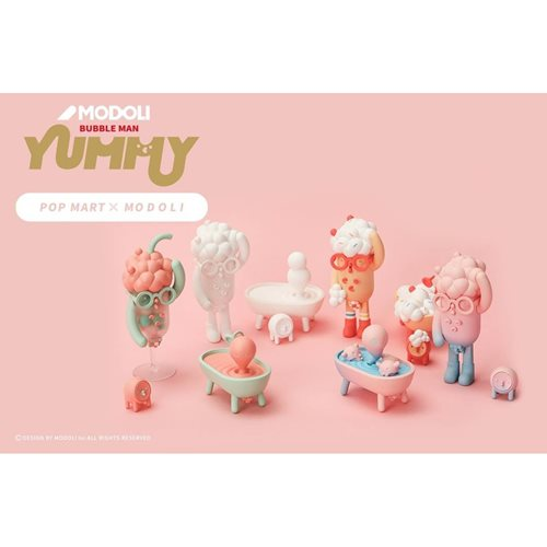 Modoli Bubble Man Yummy Blind Box Vinyl Figure