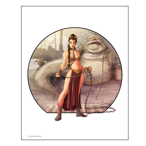 Star Wars Imprisoned by Penelope Gaylord Lithograph Art Print