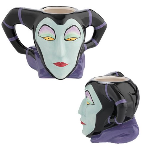 Maleficent Premium Sculpted Ceramic Mug
