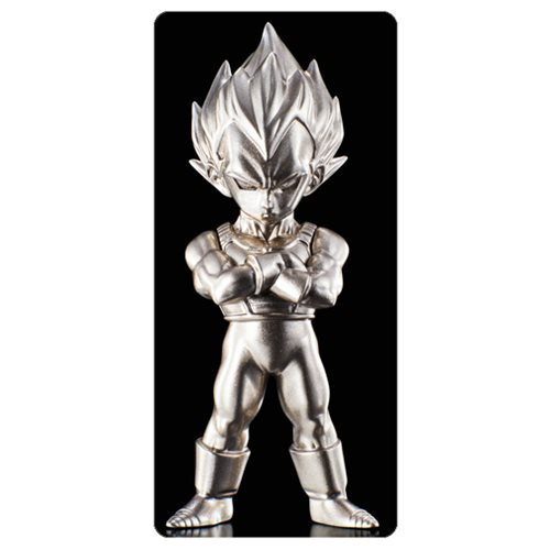 Dragon Ball Z Super Saiyan Vegeta Absolute Chogokin Die-Cast Metal Mini-Figure