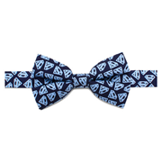 Superman Tight Shield Boys Large Silk Bowtie