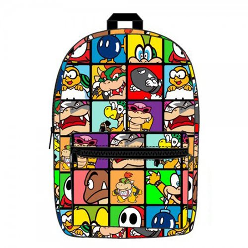 Super Mario Bros. Villains Sublimated Backpack