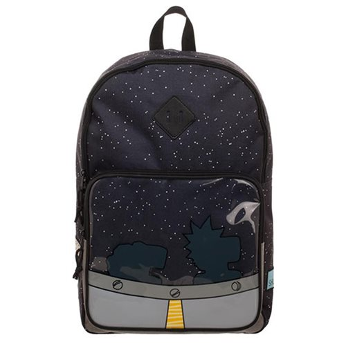 Rick and Morty Ship Backpack
