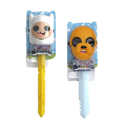 Adventure Time Finn & Jake with Mask & Sword Role Play Set