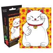 Lucky Cat 100-Piece Pocket Puzzle