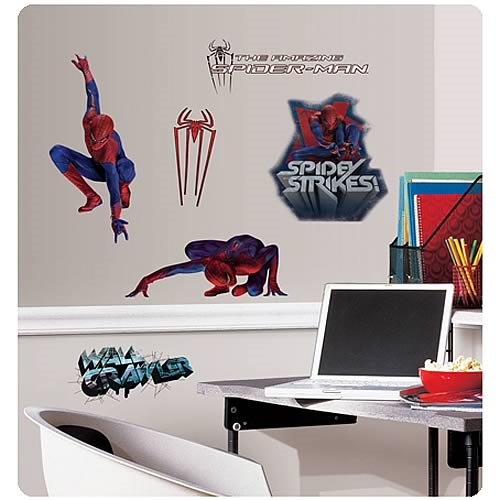 Amazing Spider-Man Movie Peel and Stick Wall Decals