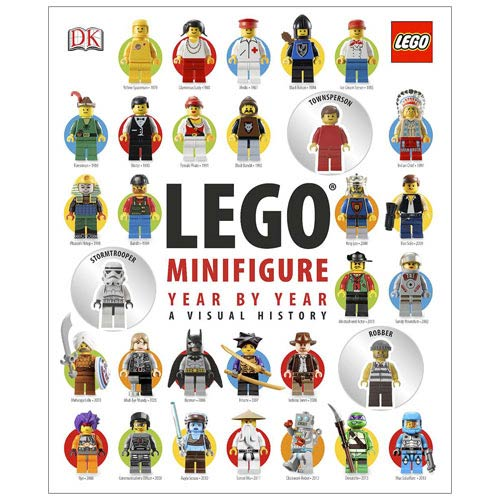 LEGO Minifigure Year by Year Visual History Hardcover Book