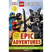 LEGO Ninjago: Epic Adventures DK Readers 3 Paperback Book