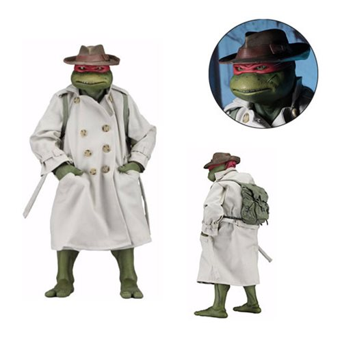 Картинки по запросу TMNT 1/4 Scale Figures - Raphael In Disguise 1990 Movie Version