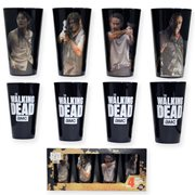 The Walking Dead Character Pints Glass Set 4-Pack