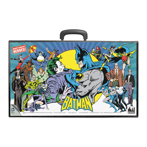 Batman Heroes vs. Villains Retro Action Figures Carry Case