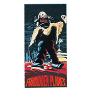 Forbidden Planet Robbie the Robot Beach / Bath Towel
