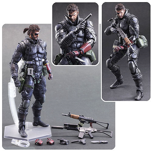 Metal Gear Solid V: The Phantom Pain Venom Snake Sneaking Suit Version Play Arts Kai Action Figure