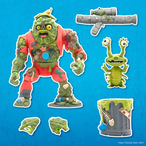 Teenage Mutant Ninja Turtles Ultimates Muckman and Joe Eyeball 7-Inch Action Figure