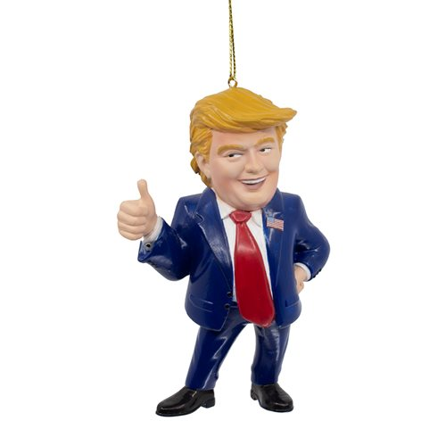Trump Thumbs Up 3 1/2-Inch Figural Ornament