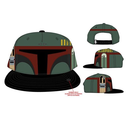 Star Wars Boba Fett Sound Chip Snapback Hat