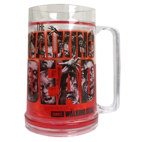 The Walking Dead Logo Blood Frosty Plastic Beer Mug