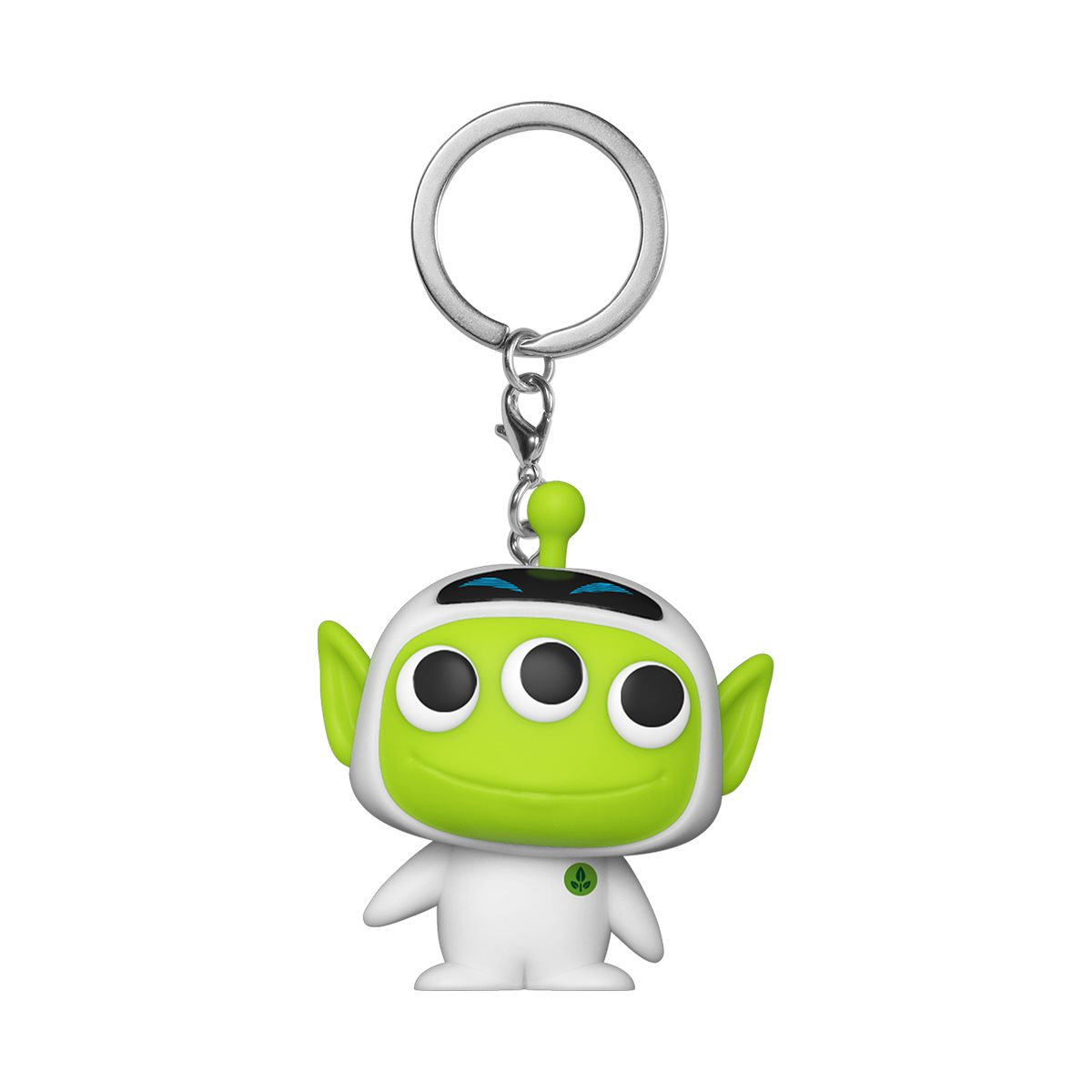UFO Keychain Sci Fi Keychain Alien Keychain Outer Space IBH Alien Key Ring Keychain  Zipper Pull Extraterrestrial Keychain