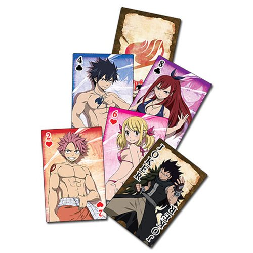 Fairy Tail S2 Group Playing Cards