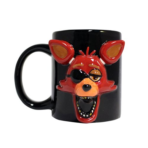 Five Nights at Freddy's Foxy Molded Mug
