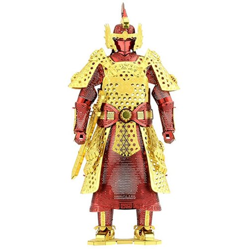 Chinese Ming Armor Metal Earth Model Kit