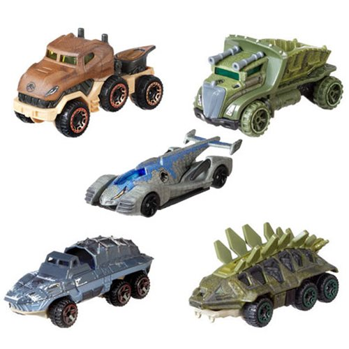 Hot Wheels Jurassic World: Fallen Kingdom Character Car 2018 Wave 2 Case