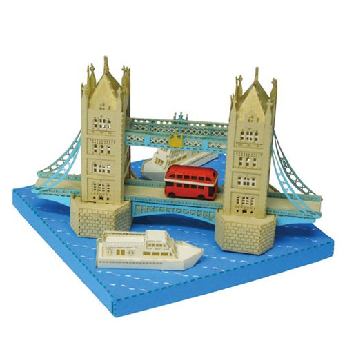 Tower Bridge Paper Nano Model Kit