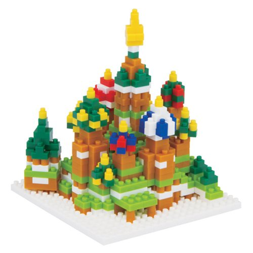 St. Basil's Cathedral Nanoblock Constructible Figure