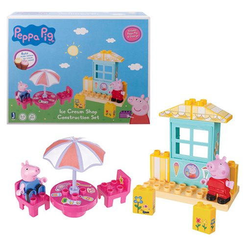 Peppa Pig Peppa's Ice Cream Shop Construction Playset