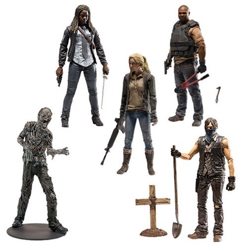 McFARLANE TOYS THE WALKING DEAD TV SERIES 9 GRAVE DIGGER DARYL ACTION FIGURE