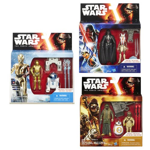 Star Wars: The Force Awakens Mission Series Action Figure 2-Packs Wave 2 Case