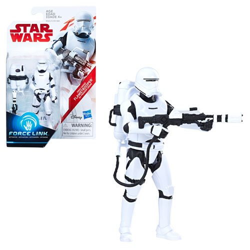 Star Wars: The Last Jedi First Order Flametrooper (Firing Pose) 3 3/4-Inch Action Figure - Exclusive