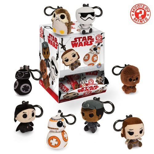 Star Wars: The Last Jedi Plush Key Chain Display Case
