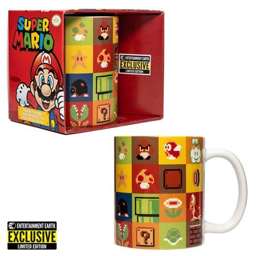 Super Mario Bros. Items and Enemies Mug - EE Exclusive