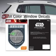 Star Wars Death Star Badge Window Decal