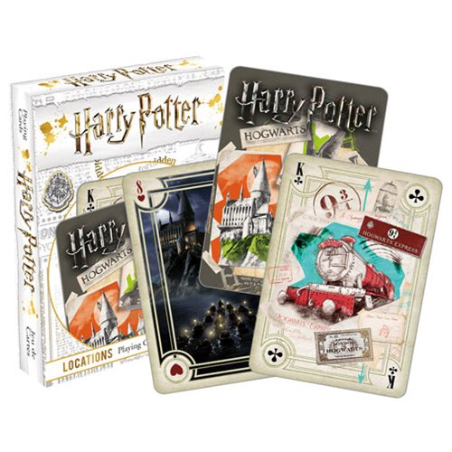 Harry Potter Locations Playing Cards